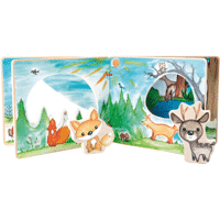 Petite Marelle_Livre d'images interactif Paysage forestier - Small Foot 3