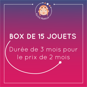 box 15 jouets 3m degrade